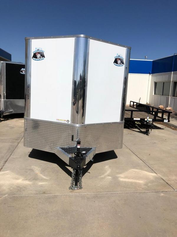 2019 R and M Manufacturing EC 7 14 TA (CONTRACTOR GRADE) Enclosed Cargo Trailer-CO SPRINGS