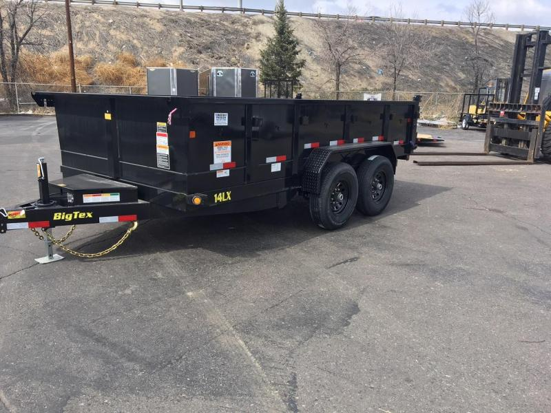 2019 Big Tex Trailers 14LX-14 W/SCISSOR LIFT HOIST Dump Trailer-WHEAT RIDGE