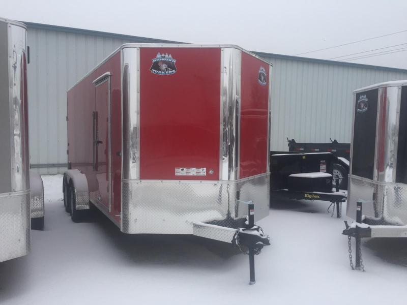 2019 RM Manufacturing EC 7 16 TA Enclosed Cargo Trailer