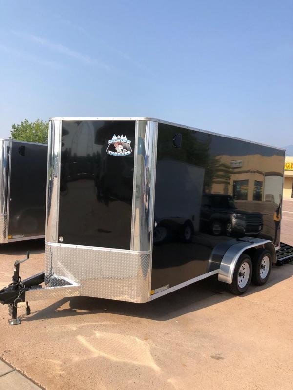 2020 R&M 7x14 v nose TAC Enclosed Cargo Trailer-CO Springs