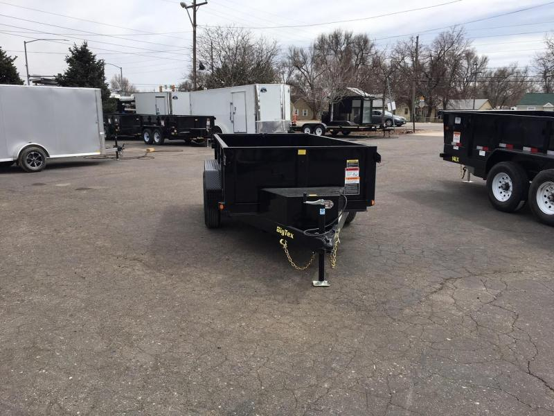 2019 5x10 Big Tex Trailers 70SR Dump Trailer-Wheat RIdge