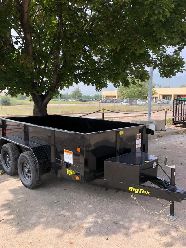 2019 5x10 Big Tex Trailers 70SR Dump Trailer-CO Springs