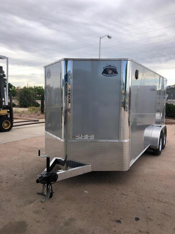 2020 R&M 7x16 v-nose TAC Enclosed Cargo Trailer-CO SPRINGS