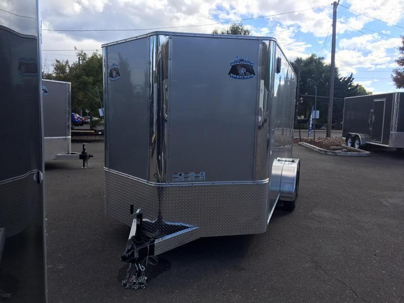 2019 R&M Manufacturing EC 7 14 TAC Enclosed Cargo Trailer-WHEAT RIDGE