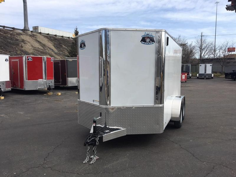 2019 R and M Manufacturing EC 7 12 TA (CONTRACTOR GRADE) Enclosed Cargo Trailer-WHEAT RIDGE