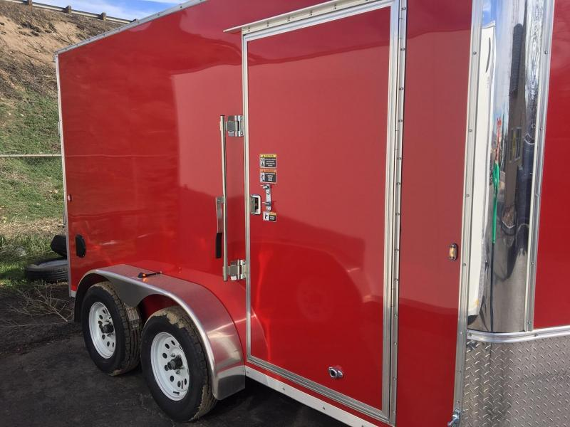 2019 R&M 7x12 TAC Enclosed Cargo Trailer-Wheat Ridge