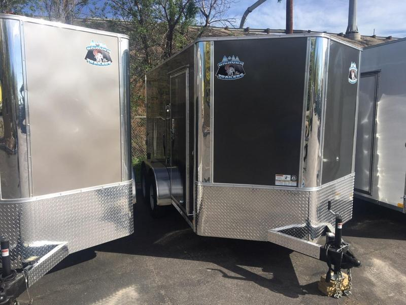 2019 R&M Manufacturing 7x12 TAC Enclosed Cargo Trailer-Wheat Ridge