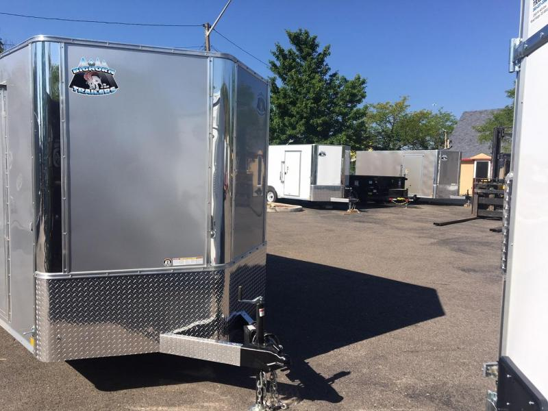 2019 R and M Manufacturing 7x16 TAC Enclosed Cargo Trailer-Wheat Ridge