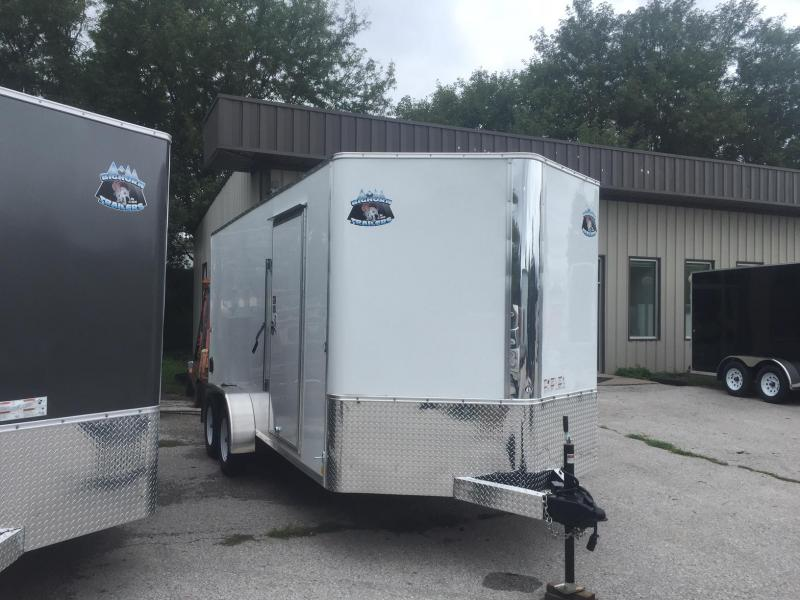 2020 R&M EC 7 16 TASWHITE Enclosed Cargo Trailer