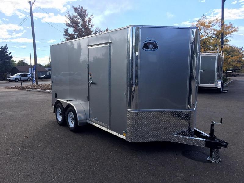 2019 R&M Manufacturing EC 7 16 TA (CONTRACTOR GRADE) Enclosed Cargo Trailer-WHEAT RIDGE