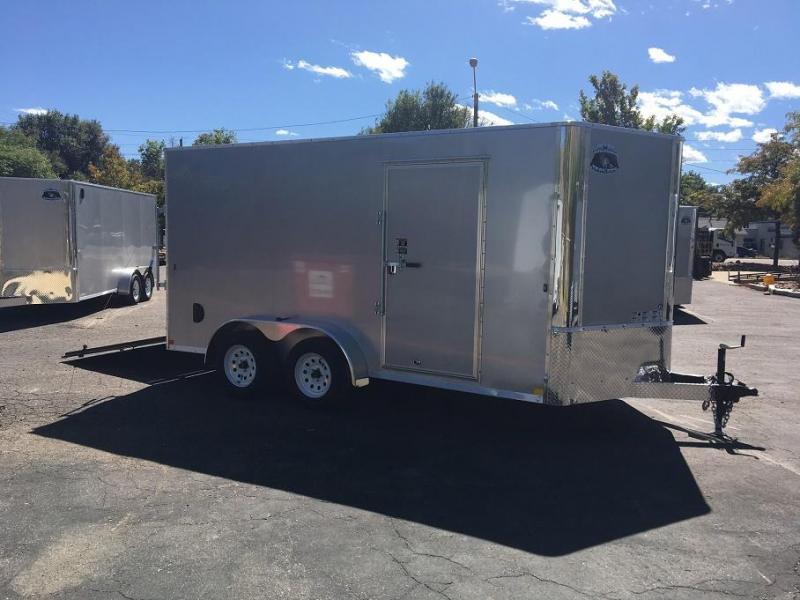 2018 RM Manufacturing EC 7 14 TA (CONTRACTOR GRADE) Enclosed Cargo Trailer