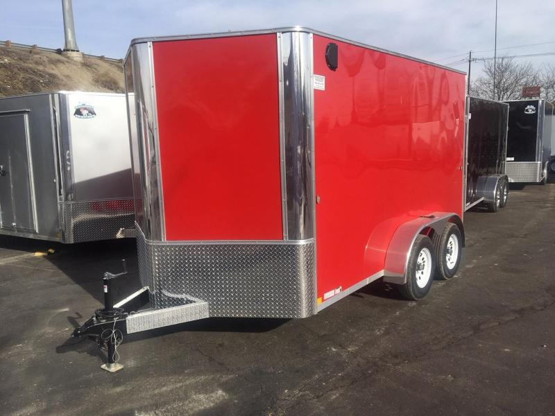 2020 R&M 7x12 TAC Enclosed Cargo Trailer-Wheat Ridge
