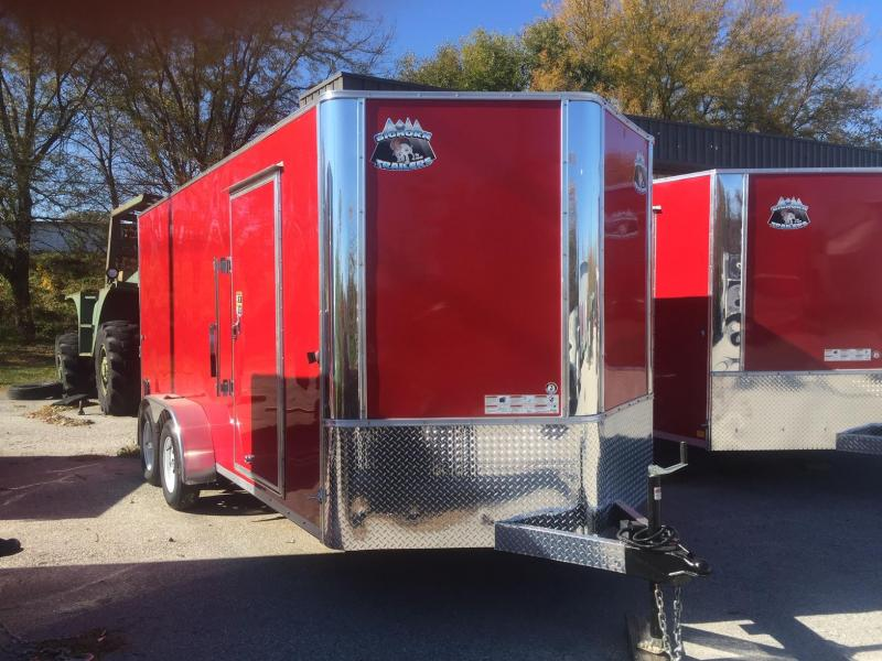 2019 R and M Manufacturing EC 7 16 TA OM Enclosed Cargo Trailer