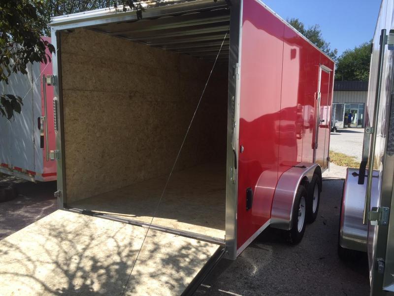 2019 R and M Manufacturing EC 7 16 TA OM Enclosed Cargo Trailer