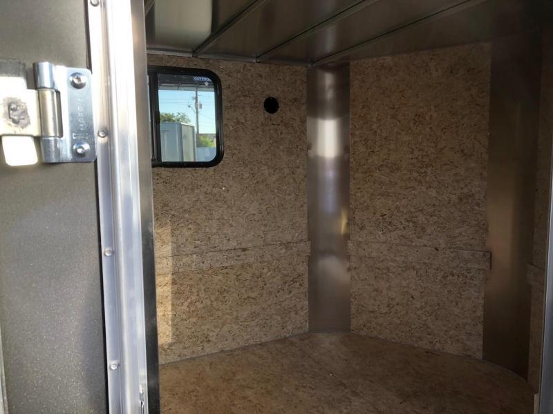 2020 R&M  7x14 v-nose (Lo-Pro) Enclosed Cargo Trailer-WHEAT RIDGE