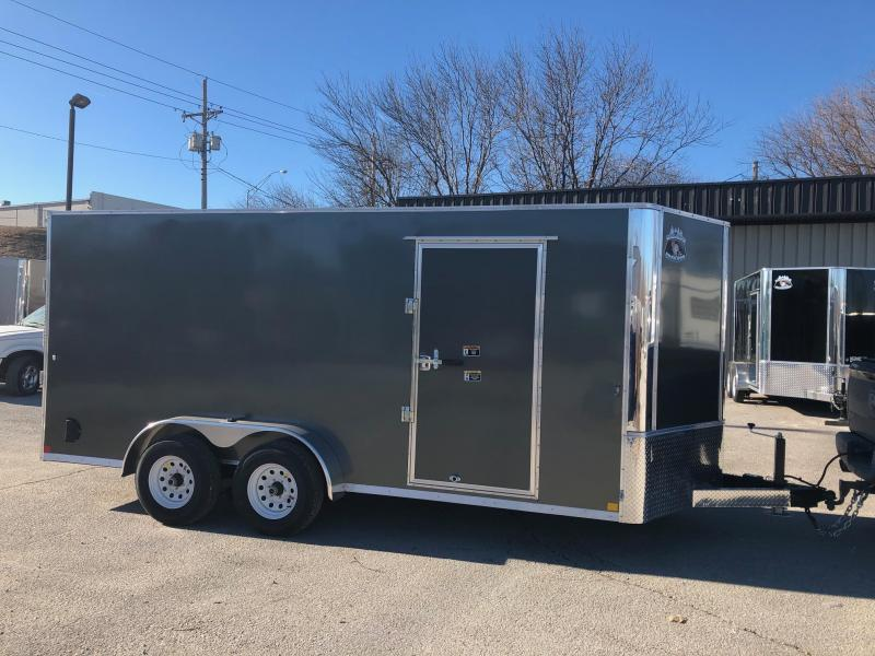 2019 R and M Manufacturing EC 7 16 TA 10K Enclosed Cargo Trailer