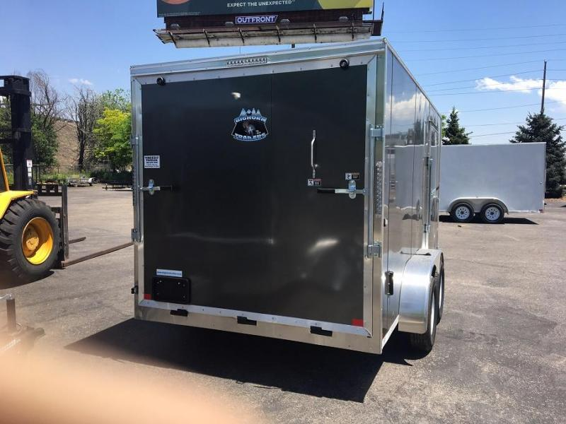 2019 R&M 7x14 v-nose TAC Enclosed Cargo Trailer