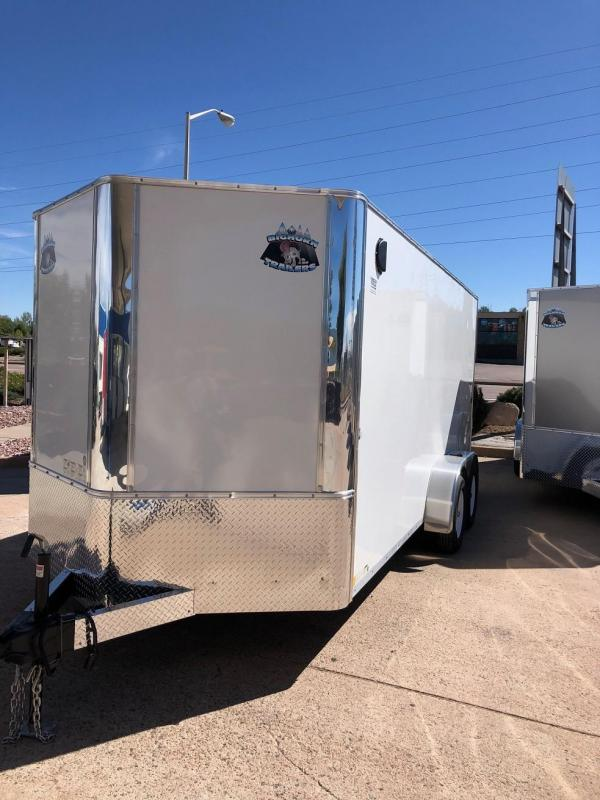 2019 R&M Manufacturing 7x16 TAC Enclosed Cargo Trailer-CO SPRINGS