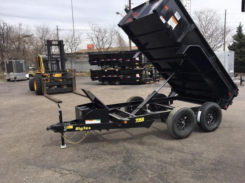 2018 Big Tex Trailers 5x10 70SR Dump Trailer-WHEAT RIDGE