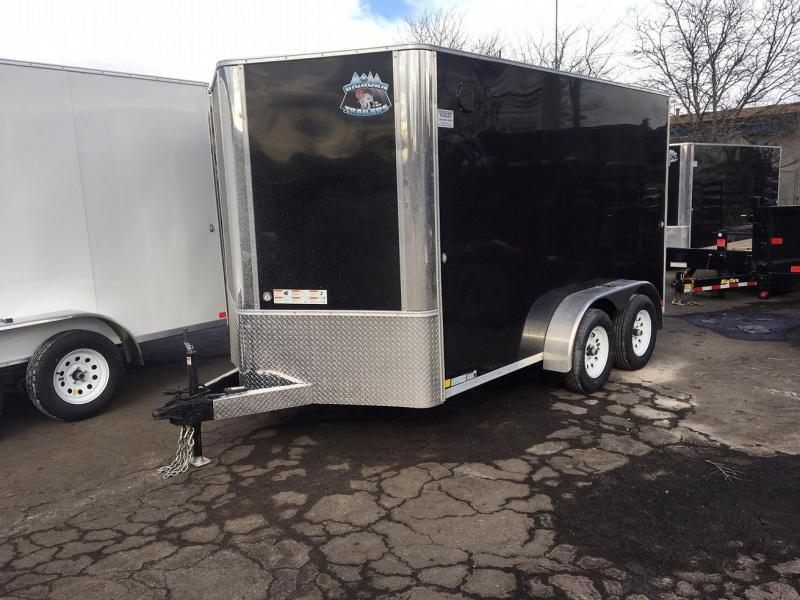 2020 R&M 7x12 (CONTRACTOR GRADE) Enclosed Cargo Trailer-WHEAT RIDGE