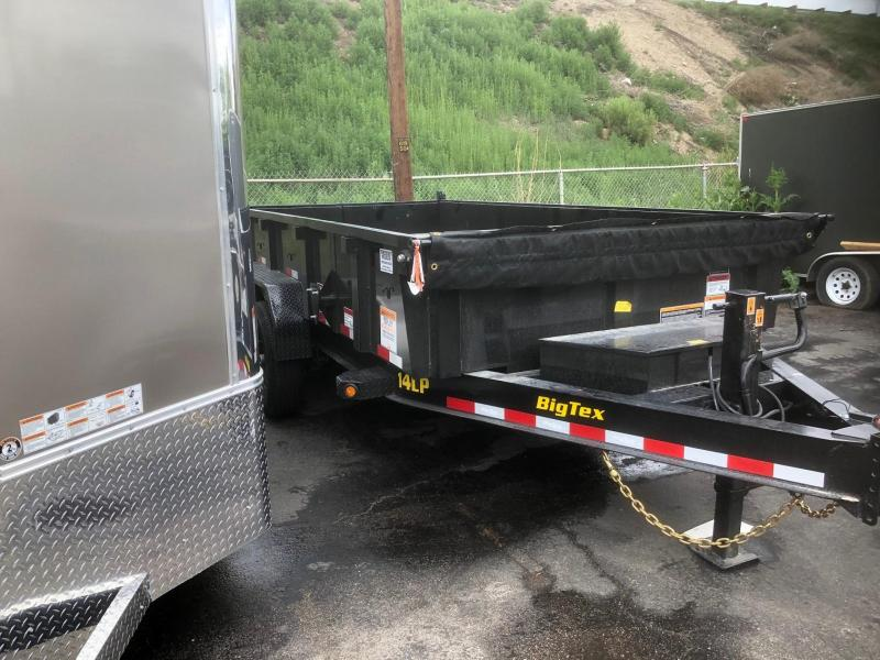 2020 Big Tex 14LP-14 (SCISSOR LIFT) Dump Trailer-WHEAT RIDGE