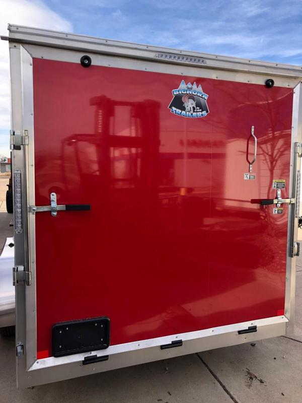 2020 R&M 7x16 v nose TAC Enclosed Cargo Trailer-CO SPRINGS