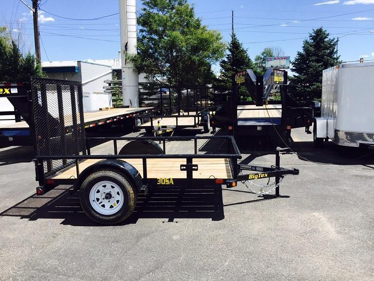 2017 Big Tex Trailers 30SA-08 ATV Trailer-CO SPRINGS