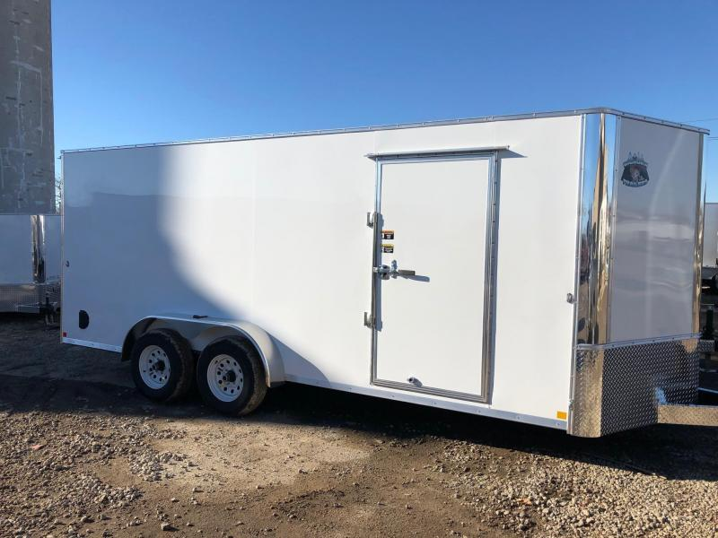 2019 R and M Manufacturing EC 7 18 TA10K Enclosed Cargo Trailer