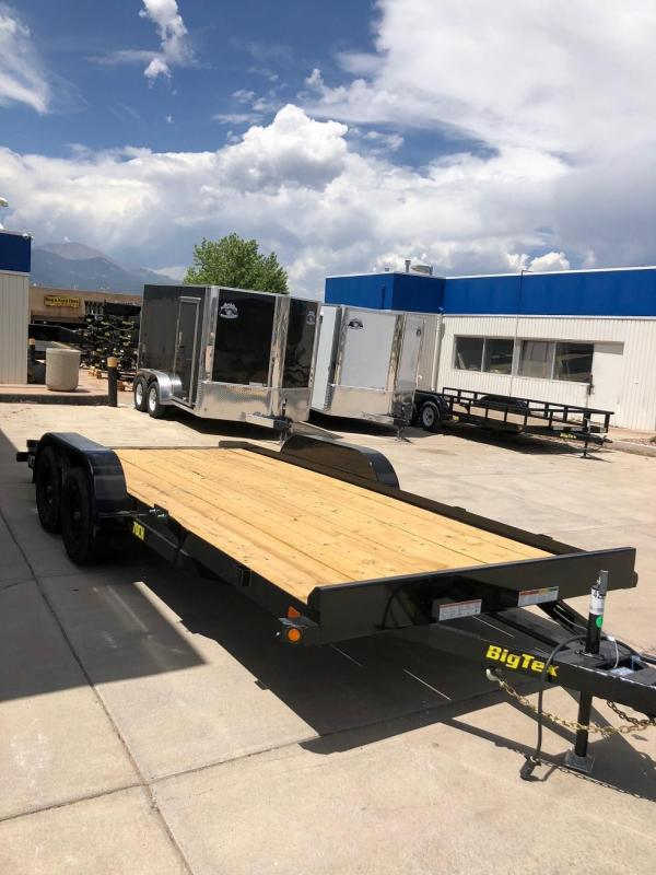 2018 Big Tex Trailers 70CH-18 Car / Racing Trailer-CO SPRINGS