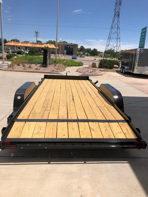 2018 Big Tex Trailers 70CH-18 Car / Racing Trailer-CO SPRINGS