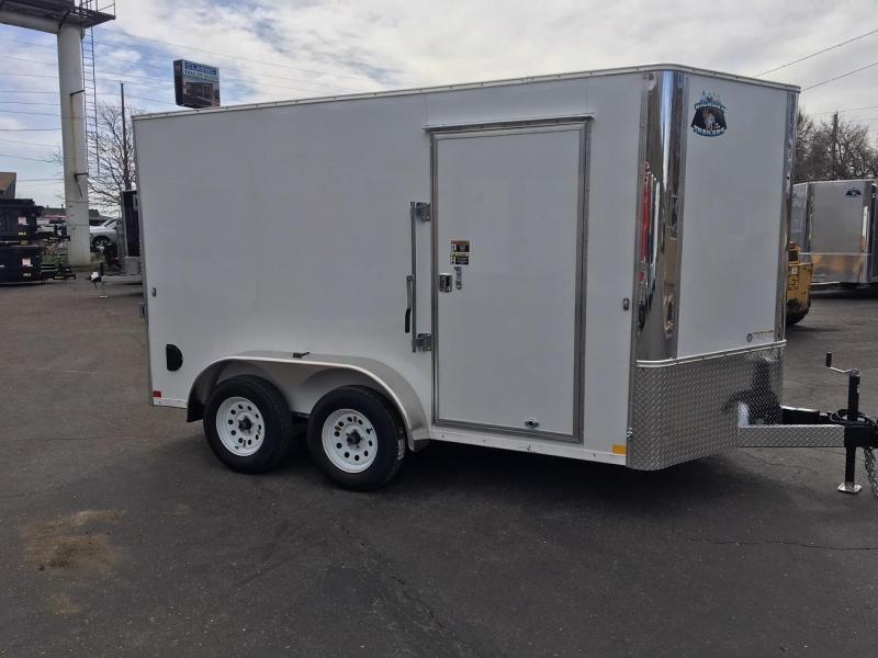 2019 RM Manufacturing EC 7 12 TA (CONTRACTOR GRADE) Enclosed Cargo Trailer-WHEAT RIDGE