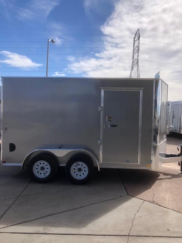 2020 R&M 7x12 v-nose (TAC) Enclosed Cargo Trailer-CO Springs