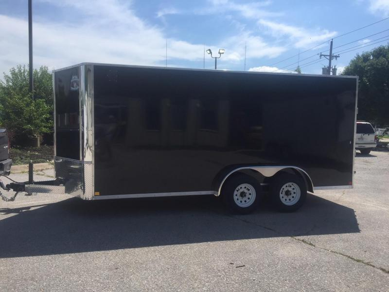 2019 R&M Manufacturing Contractor 7.16 10K Enclosed Cargo Trailer
