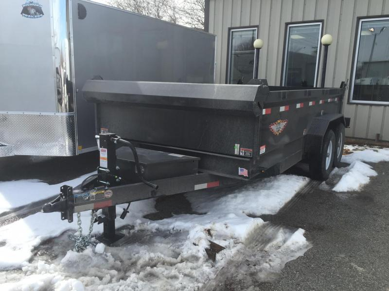2018 H and H Trailer 14DB Dump Trailer