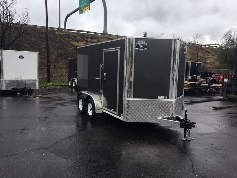 2019 7x12 R&M Enclosed Cargo Trailer-CO SPRINGS