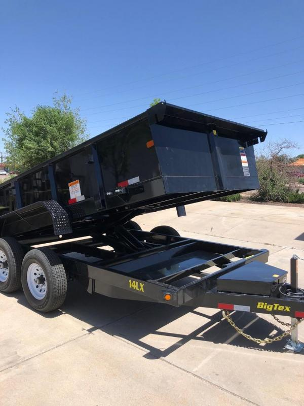2019 Big Tex Trailers 14LX-12 w/Scissor Lift Hoixt Dump Trailer