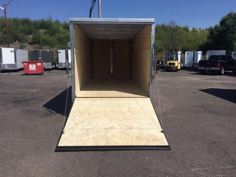 2019 R&M Manufacturing EC 7 14 TA (CONTRACTOR GRADE) Enclosed Cargo Trailer-WHEAT RIDGE