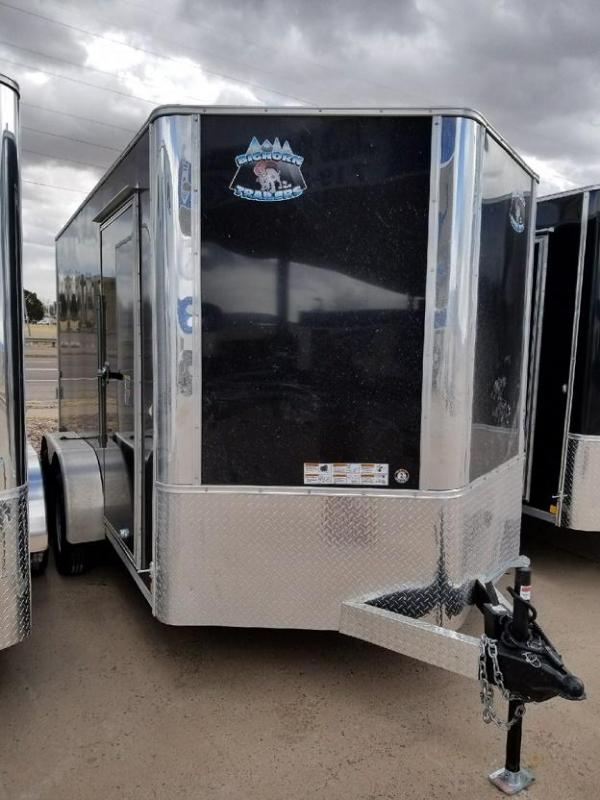 2020 R&M 7x12 TAC Enclosed Cargo Trailer-Colorado Springs