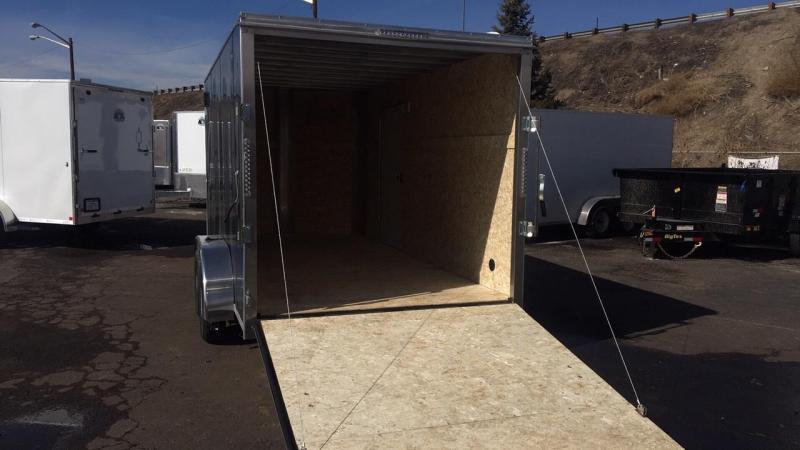 2020 R&M 7X14 v-nose Enclosed Cargo Trailer-Wheat Ridge