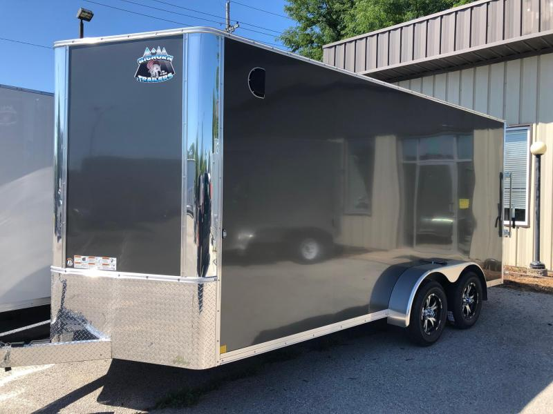 2020 R and M Manufacturing 7x16 84 TAC OM Enclosed Cargo Trailer