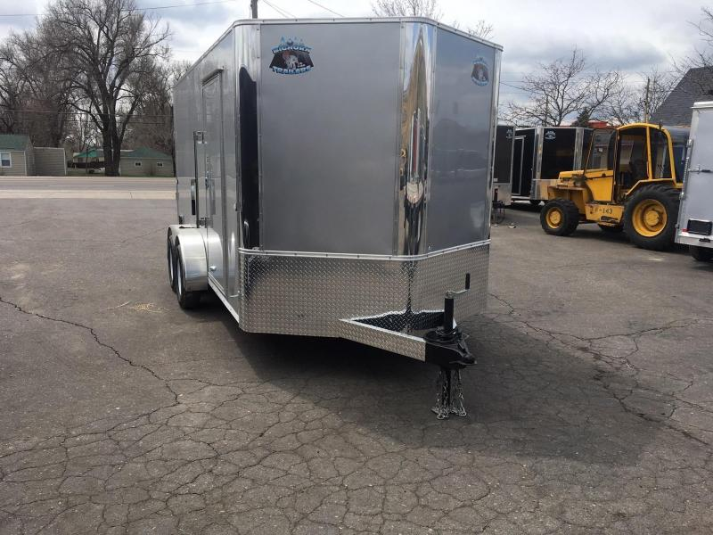 2020 R&M 7x14 v-nose TAC Enclosed Cargo Trailer-Wheat Ridge
