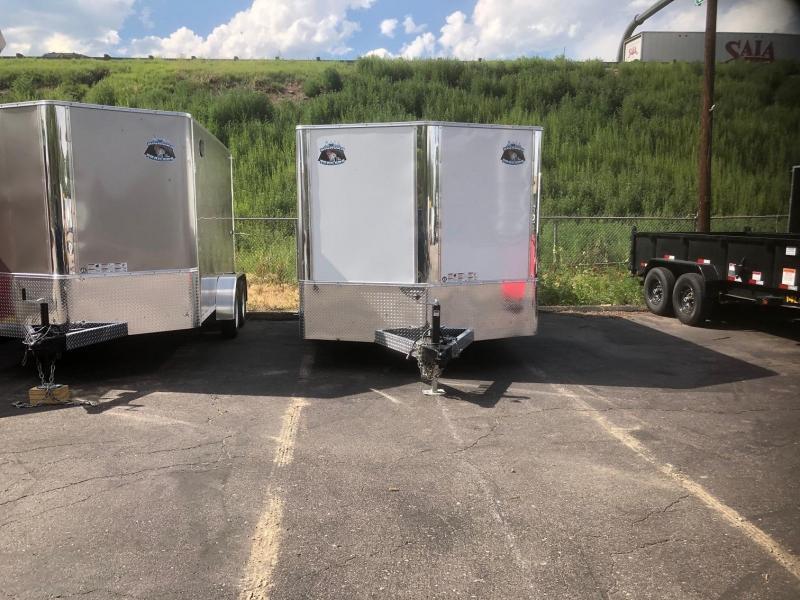 2020 R&M 8.5x12 v-nose (TAC) Enclosed Cargo Trailer-Wheat Ridge