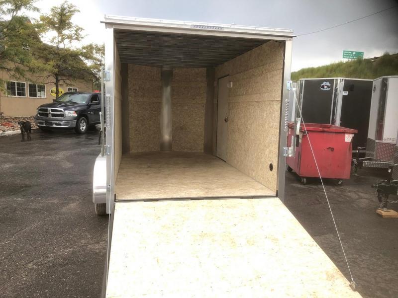 2020 R&M 7x12 TAC Enclosed Cargo Trailer-Wheat Ridge