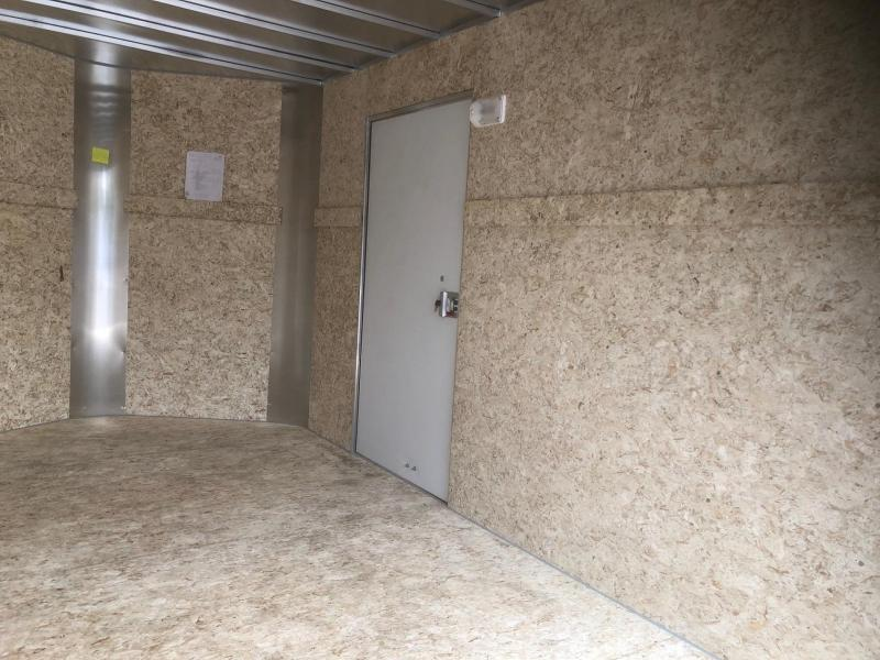 2020 R&M 7x14 v-nose (Barn Doors) Enclosed Cargo Trailer-Wheat Ridge