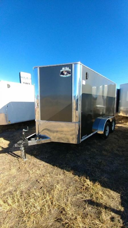 2019 R&M 7x12 Enclosed Cargo Trailer-CO SPRINGS