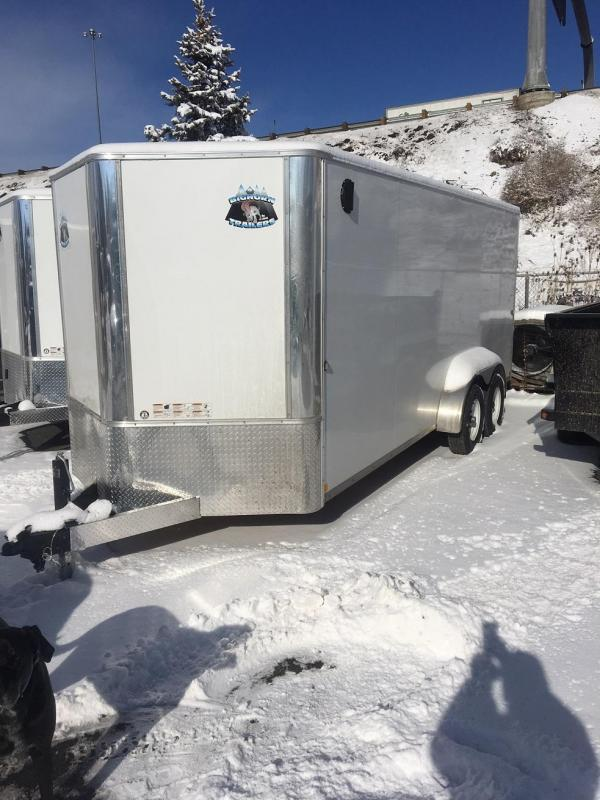 2020 R&M 7x18v-nose (10k) Enclosed Cargo Trailer-Wheat Ridge