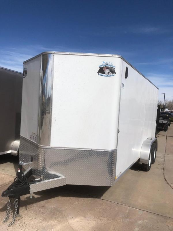 2020 R&M 7X16 V-NOSE (TAS) Enclosed Cargo Trailer-CO Springs