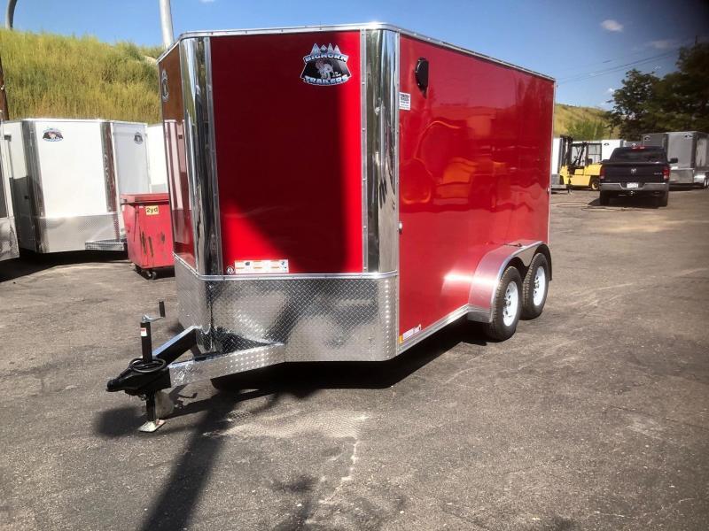 2020 R&M 7x12+v-nose (TAC-BD) Enclosed Cargo Trailer-WHEAT RIDGE