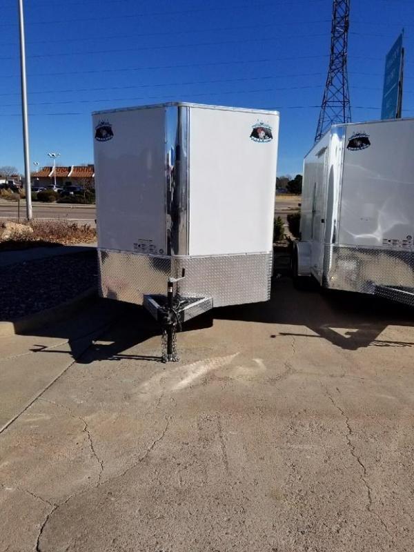2019 R&M MFG 7x16 TAS Enclosed Cargo Trailer-CO Springs
