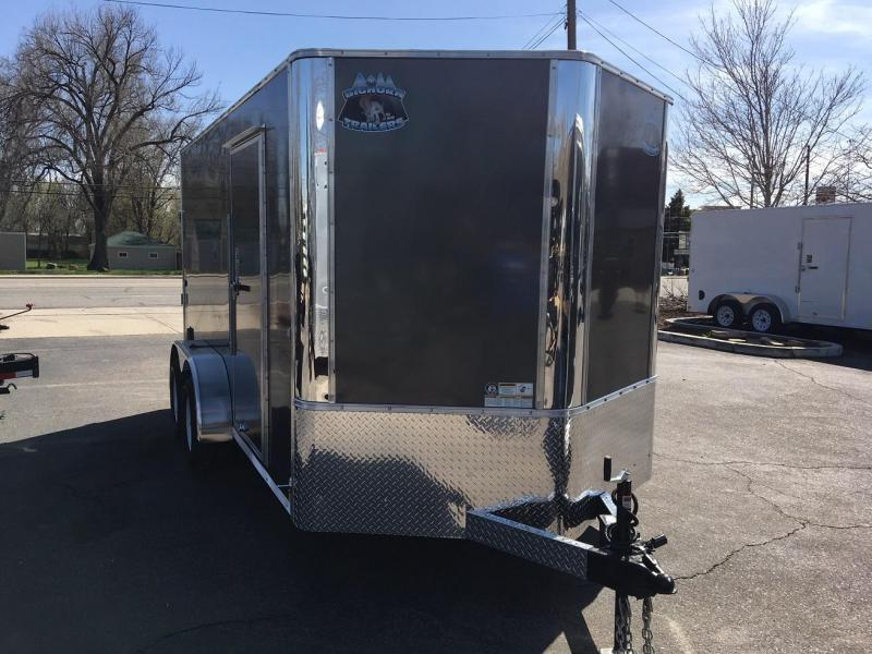 2019 R&M MFG 7x14 TAC Enclosed Cargo Trailer-Wheat Ridge